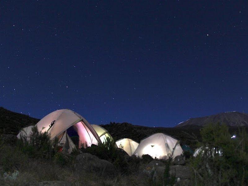 Acampamento 5.000 estrelas - Kilimanjaro