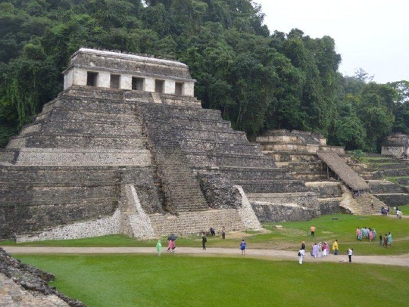 Palenque - crédito: Visit México