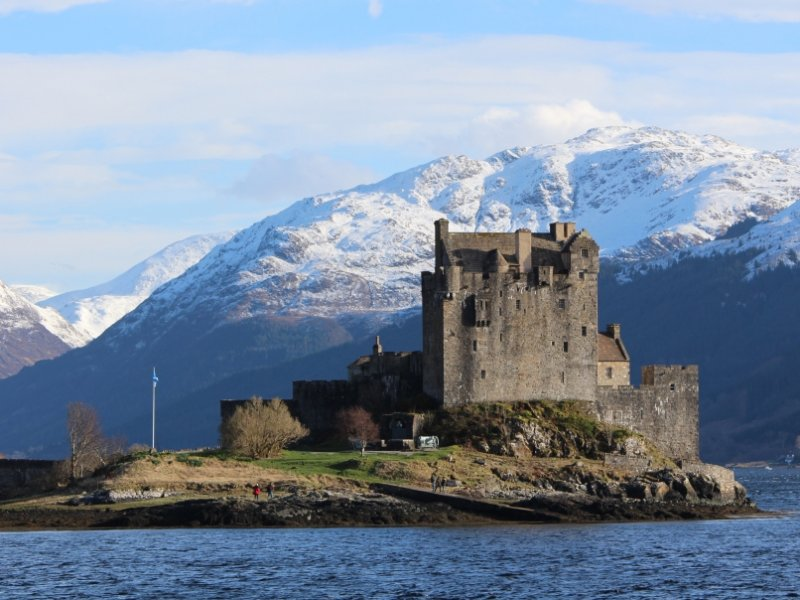 Castelo Eilean Donan - crédito: Patrícia Dozzi
