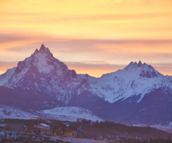 Paisagens Nevadas em Ushuaia (Terra do Fogo)
