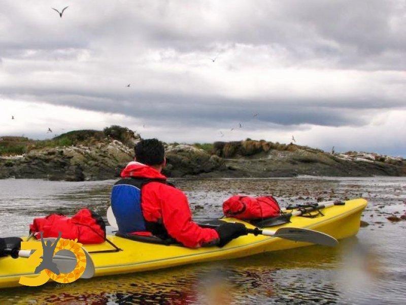 Kayak no Canal de Beagle