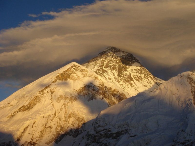 Everest ao entardecer
