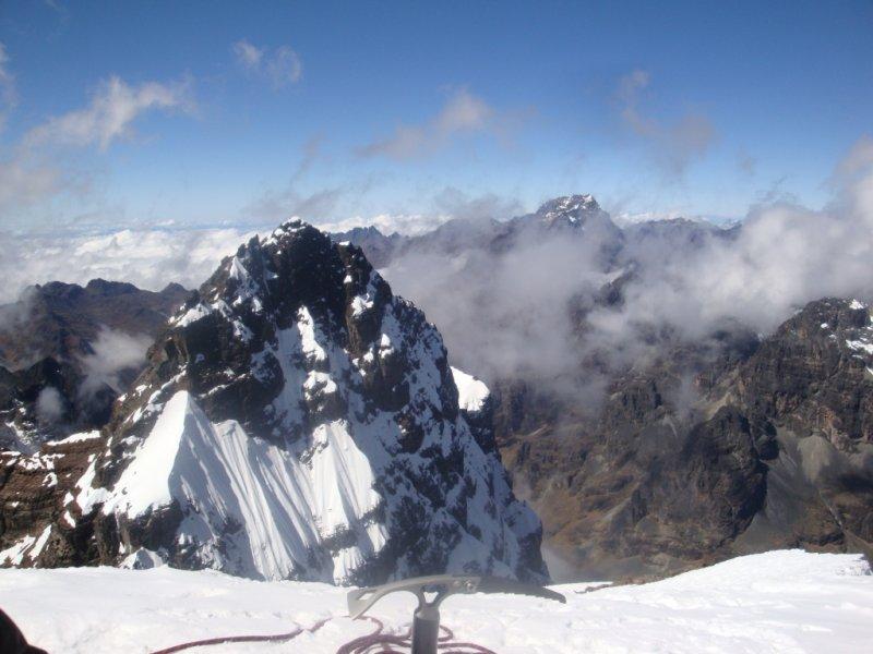Curso Escalada em Gelo na Bolívia