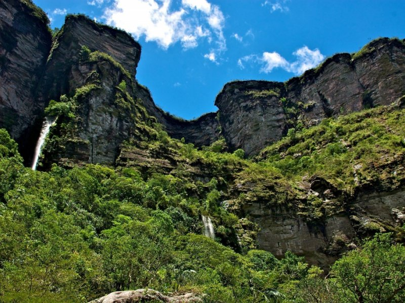 Trekking do Vale do Pati - Cachoeirão por Baixo - Chapada Diamantina - Foto Otávio Lino