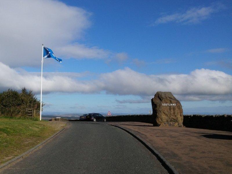 Fronteira Escócia Inglaterra