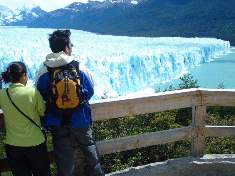 Mirantes Glaciar Perito Moreno - El Calafate - Foto: Claudia Ribeiro