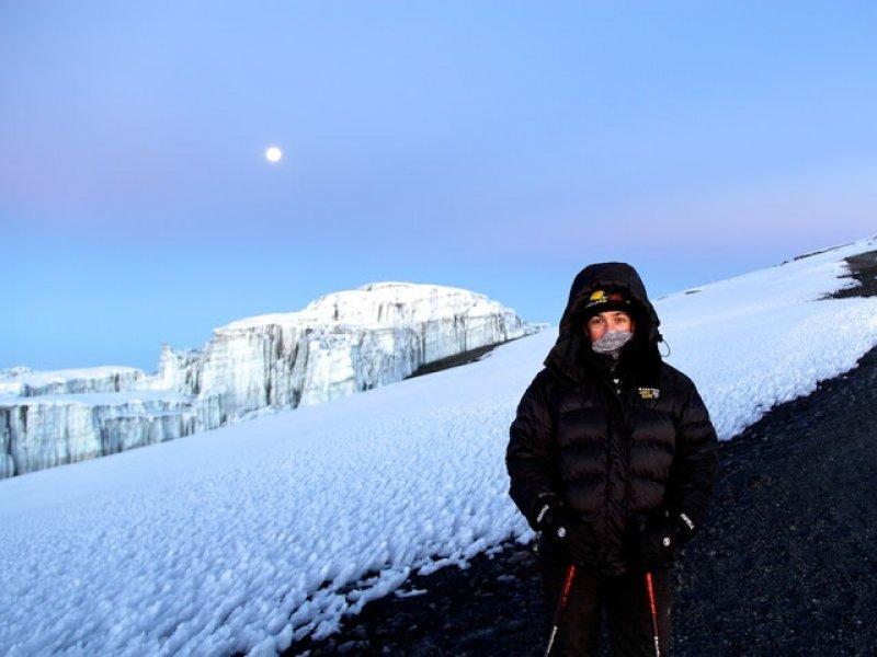 A caminho do cume - Kilimanjaro