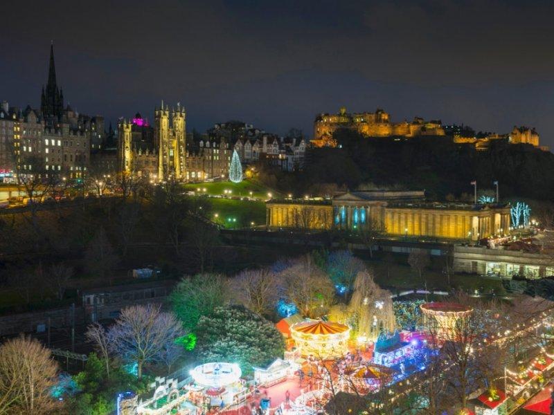 Natal em Edimburgo - crédito: Visit Scotland - Kenny Lam