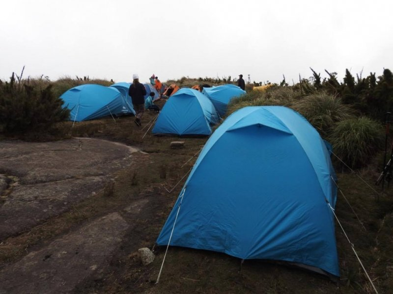 Camping no Açu - Foto: Dilson Braz Jr.