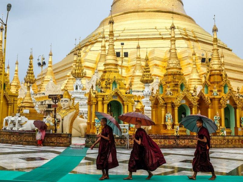 Templos de Myanmar