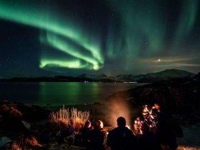 Noruega Inverno - Aurora Boreal em Tromsø