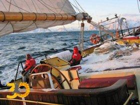 REVEILLON - Noruega Inverno - Velejando no Ártico com Aurora Boreal e Baleias