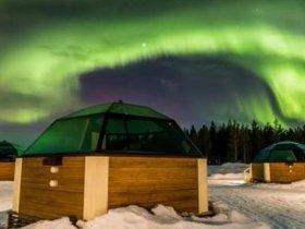 Finlândia – Lapônia Experience (Aurora Boreal, Aventuras na Neve e Igloo de Vidro)