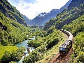 Noruega - Fiordes e Ferrovia Flåm