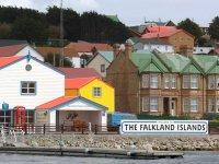 Paisagens das Ilhas Malvinas (Falklands)
