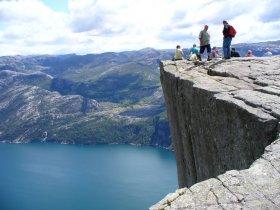 Noruega - Fiordes, Ferrovia Flåm e Pedra Púlpito