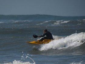 Caiaque Oceânico - Curso Kayak Surf