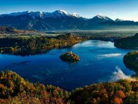 Eslovênia e Croácia - Cores de Outono