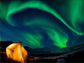 Canadá - Observação da Aurora Boreal
