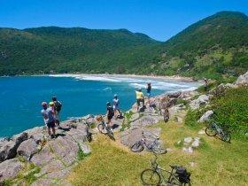 Cicloturismo em Florianópolis - Volta à Ilha