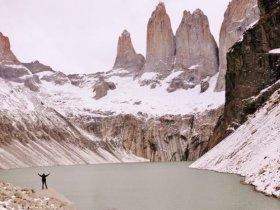 Patagônia Aventura - Circuito W Completo Torres del Paine em Refúgios no Inverno