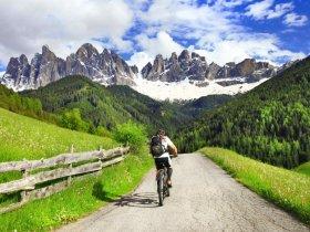 Itália Cicloturismo - Descobrindo as Dolomitas