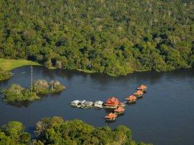 Amazônia - Uacari Lodge - Reserva Mamirauá