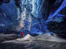Islândia -  Cavernas de Gelo e Aurora Boreal